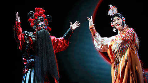 New Peking Opera Farewell My Concubine