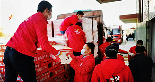 Unite our strength and urgently dispatch goods worth RMB 10 million yuan to the frontline of the virus outbreak